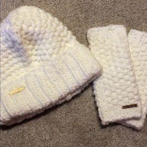 Michael Kors Hat and Glove Set